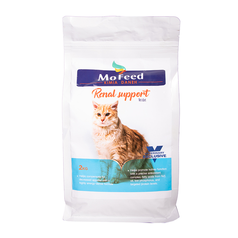 عکس بسته بندی غذای خشک گربه مفید مدل Renal Support وزن 2 کیلوگرم