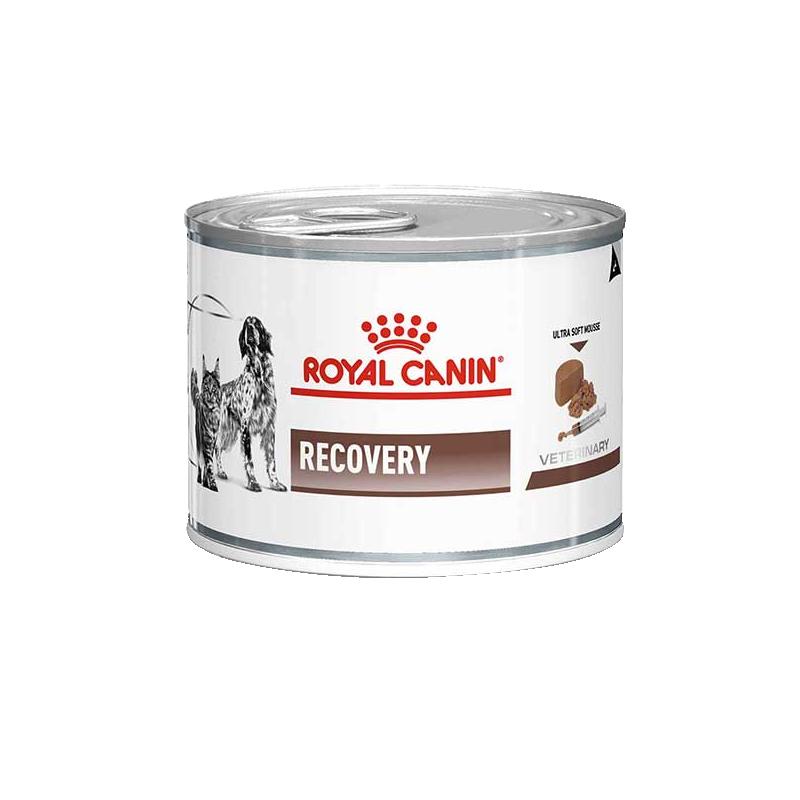 کنسرو غذای سگ و گربه رویال کنین مدل Recovery وزن ۱۹۵ گرم