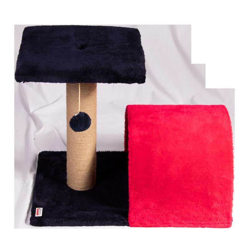 عکس کامل اسکرچر و جای خواب کدیپک مدل سنجد قرمز سرمه ای