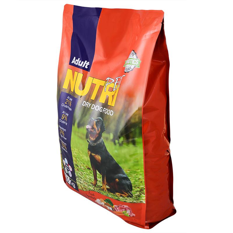 عکس بسته بندی تبلیغاتی غذای خشک سگ نوتری مدل Adult 21 وزن 15 کیلوگرم