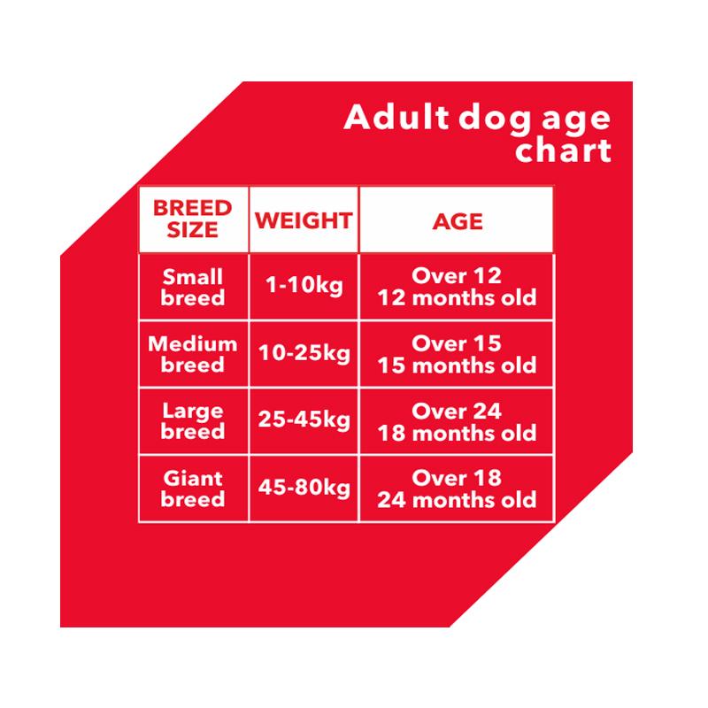 عکس راهنمای تغذیهغذای خشک سگ درولز مدل Adult Chicken & Egg وزن 3 کیلوگرم