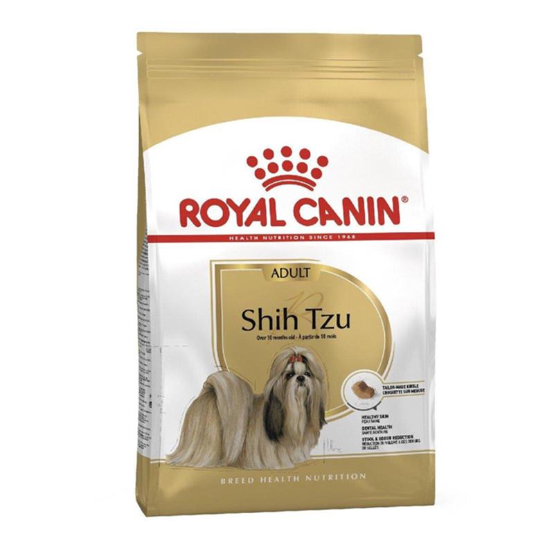 عکس بسته بندی غذای خشک سگ رویال کنین مدل ShihTzu وزن 1.5 کیلوگرم