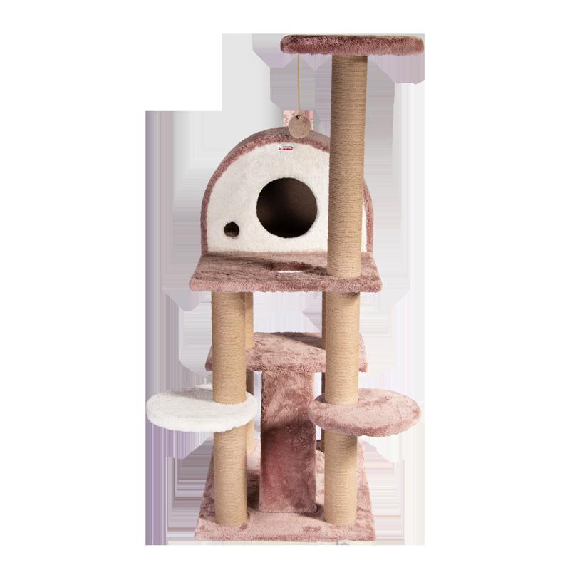 عکس اسکرچر ، لانه ، جای خواب و درخت کدیپک مدل توسکا رنگ کرم