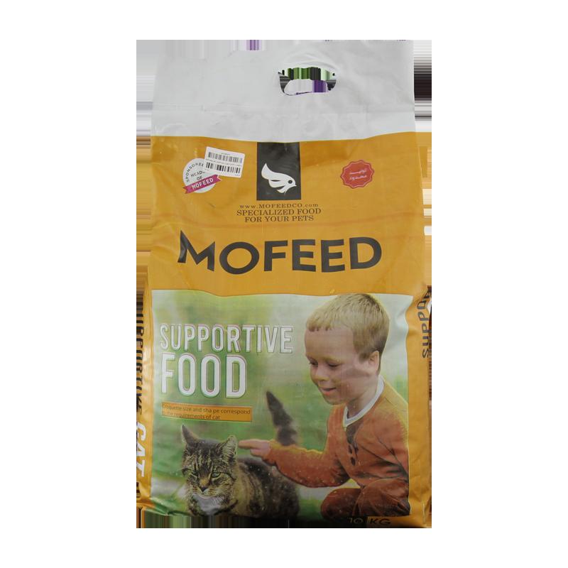 غذای خشک گربه حمایتی مفید با طعم مرغ وزن 10 کیلوگرم