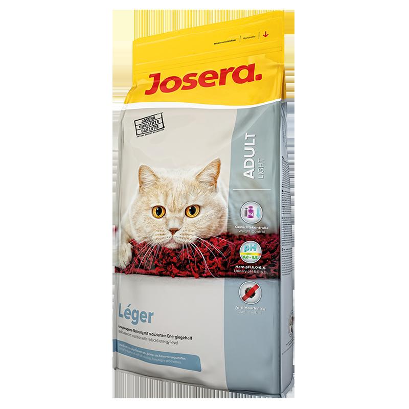 عکس بسته بندی غذای خشک گربه جوسرا مدل Leger وزن 10 کیلوگرم