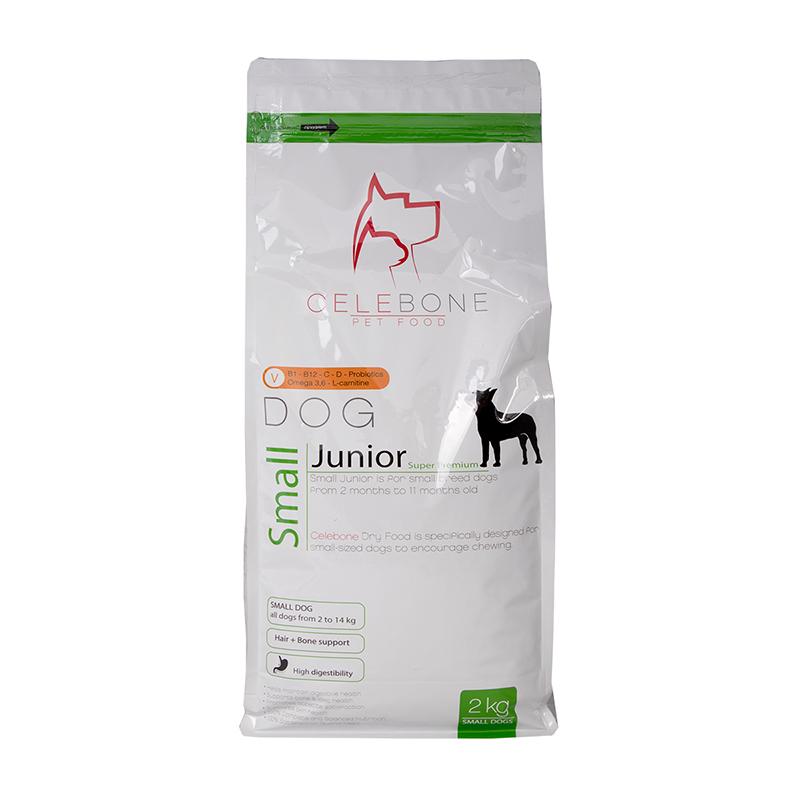 عکس بسته بندی غذای خشک سگ سلبن مدل Small Junior وزن 2 کیلوگرم