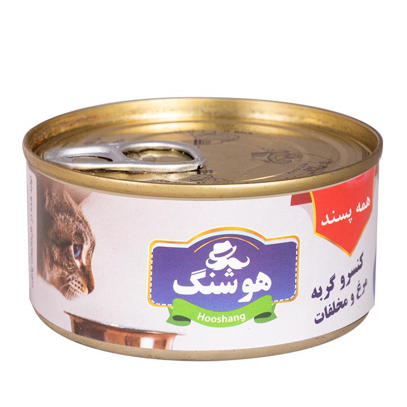 عکس کنسرو غذای گربه پتچی مدل هوشنگ Chicken & Other وزن 120 گرم
