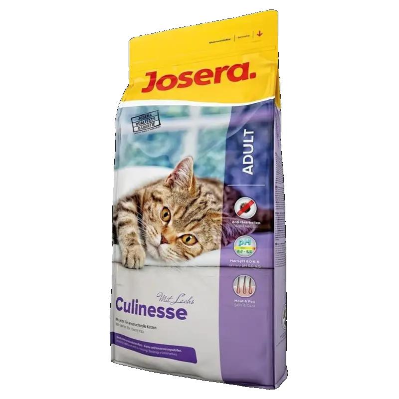 عکس بسته بندی غذای خشک گربه جوسرا مدل Culinesse وزن 3 کیلوگرم + 300 گرم رایگان
