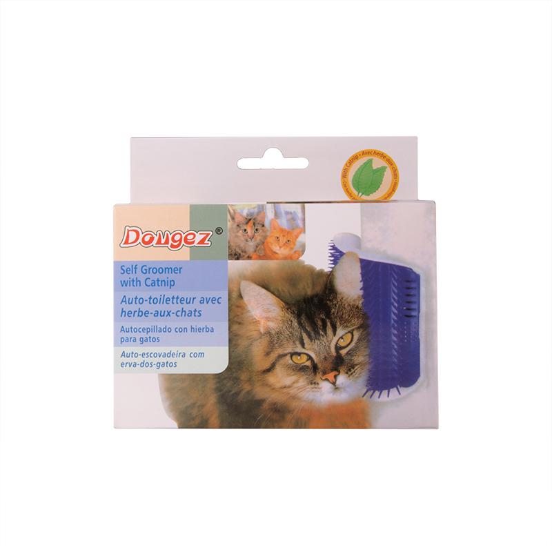 عکس جعبه ماساژور گربه مدل براش نرم