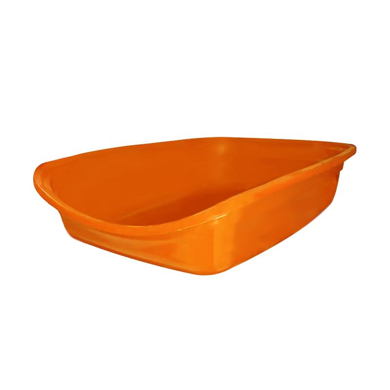 ظرف خاک گربه هپی پت مدل مشا نارنجی