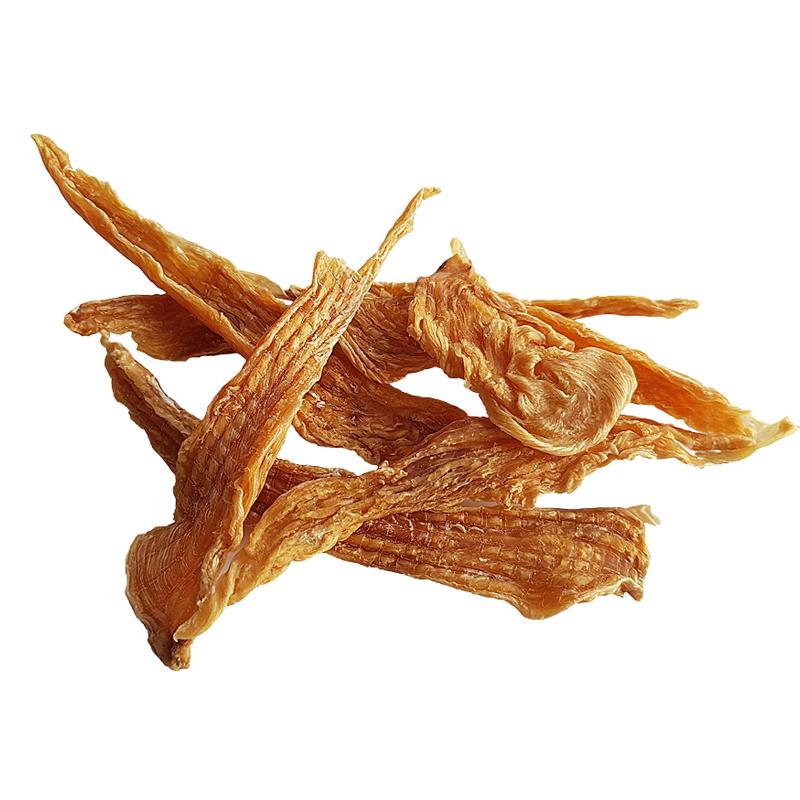عکس محصول تشویقی گربه هاپومیل مدل Chicken Fillet Chips وزن 50 گرم