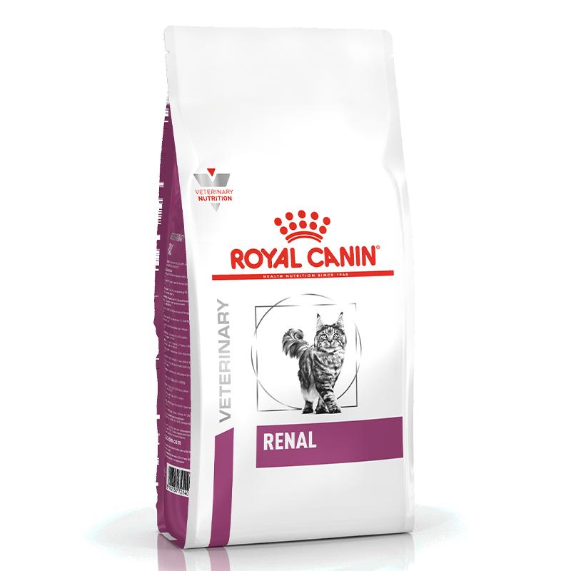 عکس بسته بندی غذای خشک بسته غذای خشک و تر گربه رویال کنین مدل Renal
