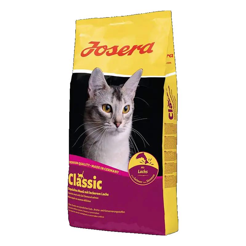 عکس بسته بندی غذای خشک گربه جوسرا مدل Classic وزن 3 کیلوگرم + 300 گرم رایگان