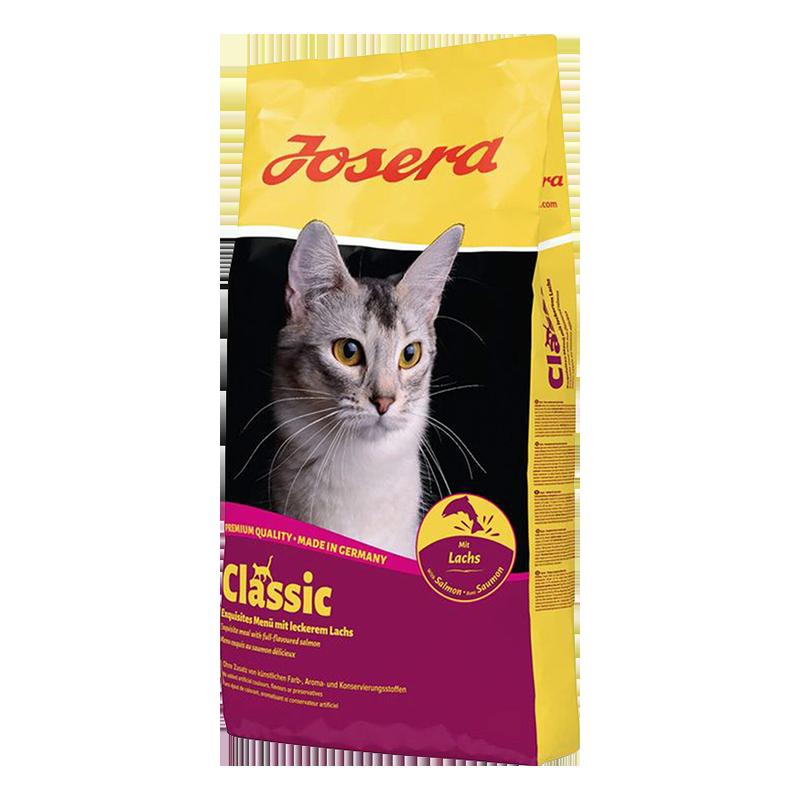 عکس بسته بندی غذای خشک گربه جوسرا مدل Classic وزن 10 کیلوگرم