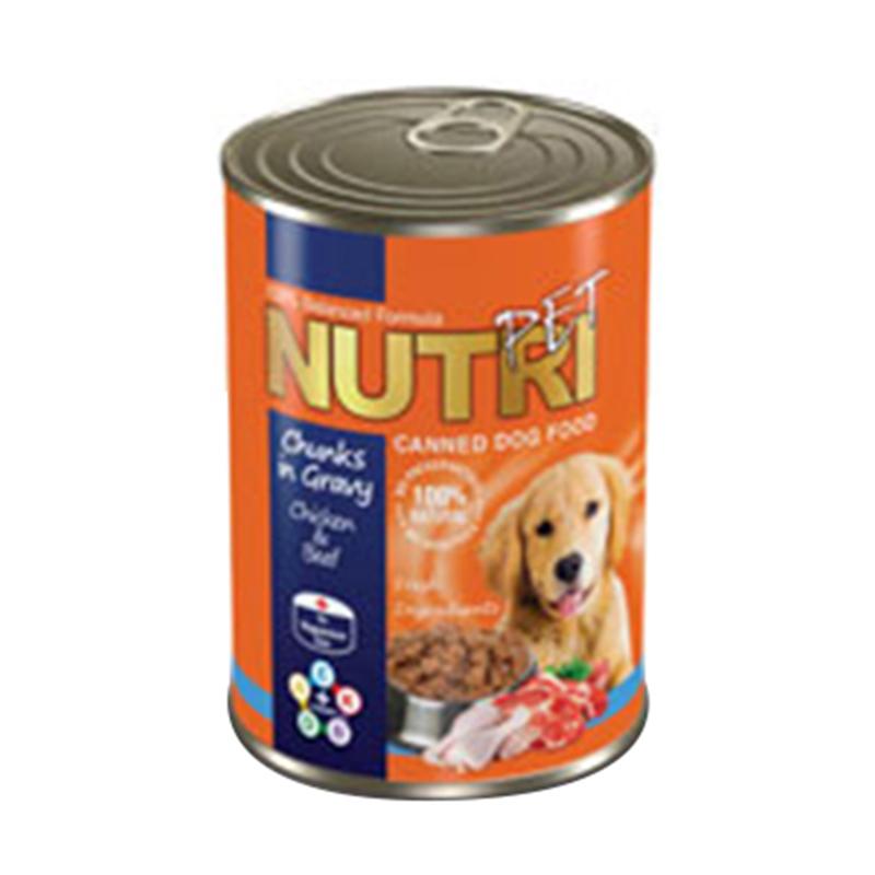 عکس بسته بندی کنسرو غذای سگ نوتری مدل Chicken & Beef وزن 425 گرم