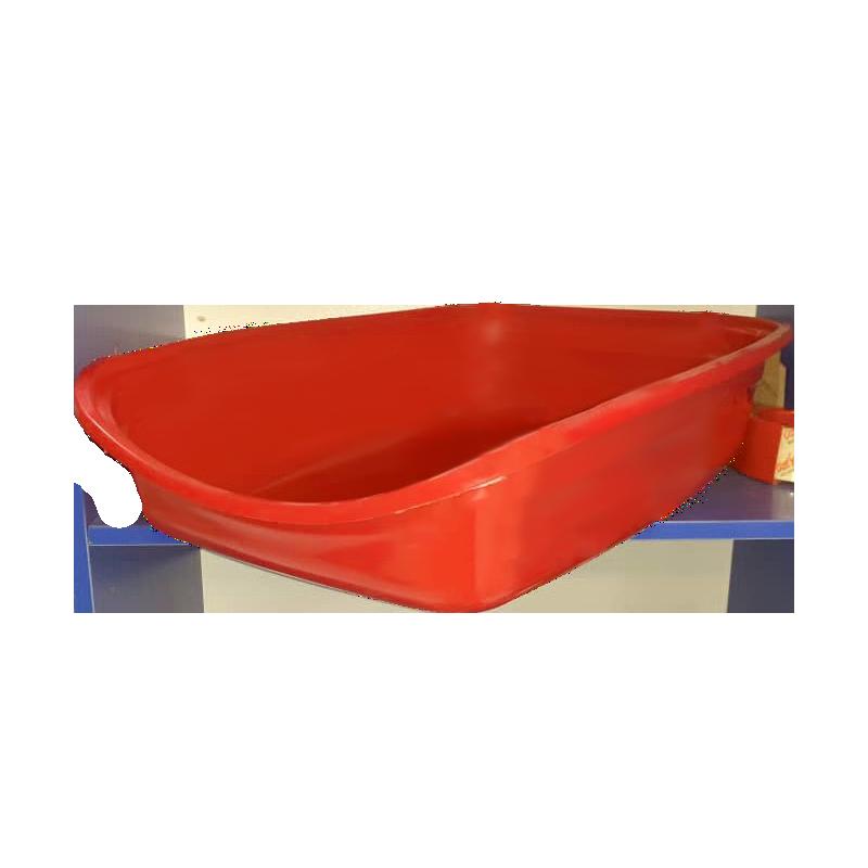 ظرف خاک گربه هپی پت مدل مشا قرمز