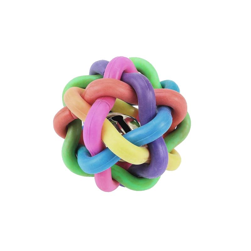 اسباب بازی حیوانات مدل توپ رنگین کمانی بزرگ