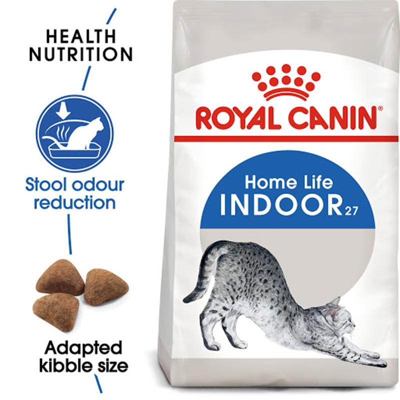 عکس جزییات غذای خشک گربه رویال کنین مدل Indoor Home Life وزن 10 کیلوگرم