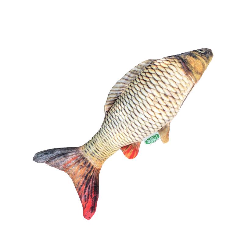 عکس محصول عروسک بازی گربه سویل پت مدل Fish ماهی کپور 1