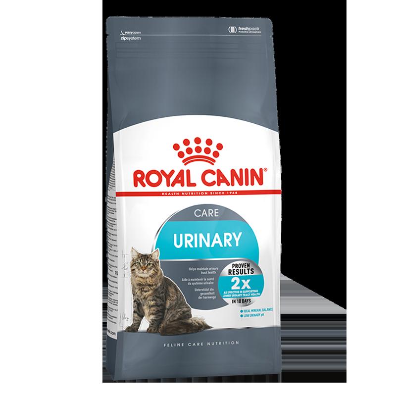 عکس بسته بندی غذای خشک بسته غذای خشک و تر گربه رویال کنین مدل Urinary Care