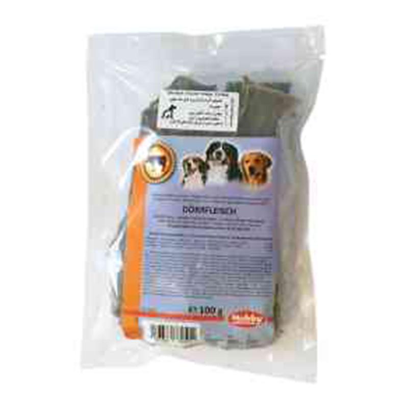 عکس بسته بندی تشویقی سگ نوبی مدل Dried Meat وزن 100 گرم