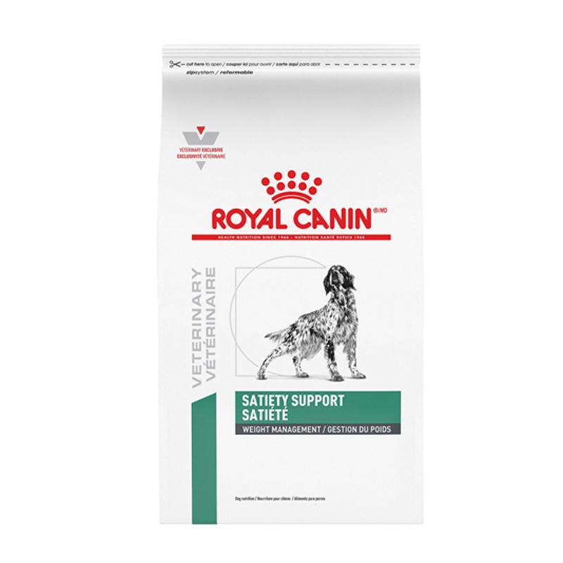 عکس بسته بندی غذای خشک سگ رویال کنین مدل Satiety Support وزن 1.5 کیلوگرم