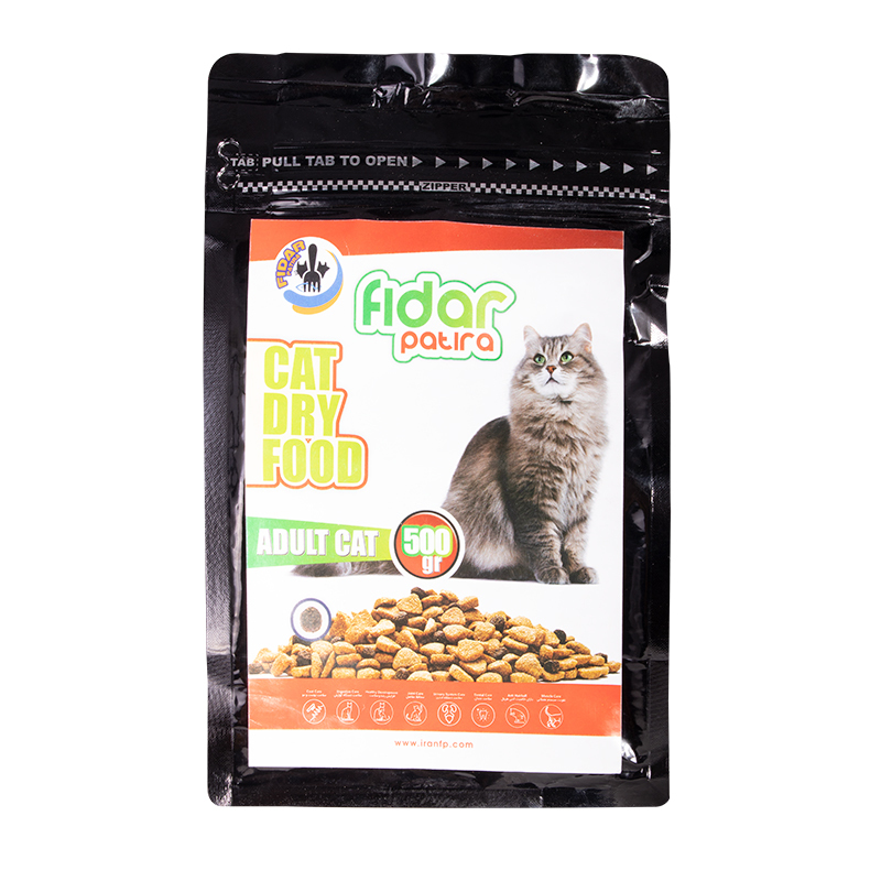 عکس بسته بندی غذای خشک گربه فیدار مدل Adult وزن 500 گرم