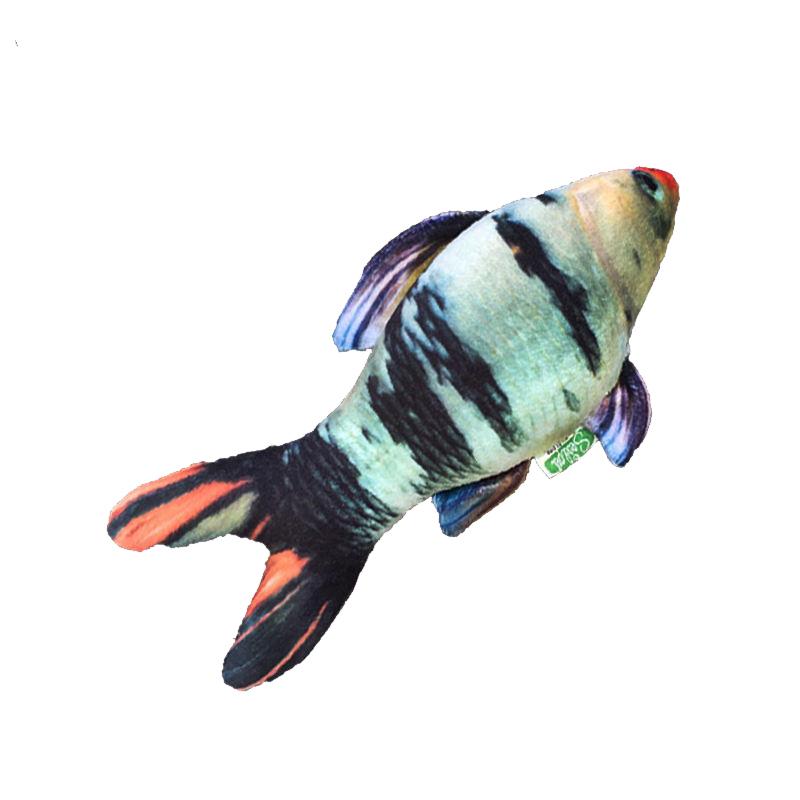 عکس محصول عروسک بازی گربه سویل پت مدل Fish ماهی رنگین کمانی 2