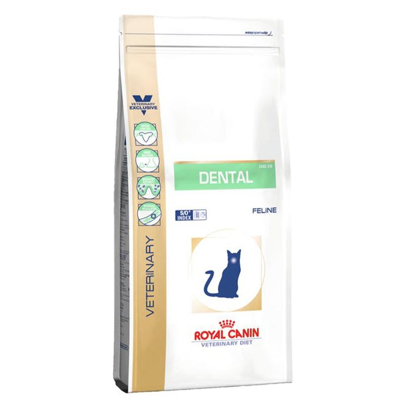 عکس بسته بندی غذای خشک گربه رویال کنین مدل Dental وزن 1.5 کیلوگرم