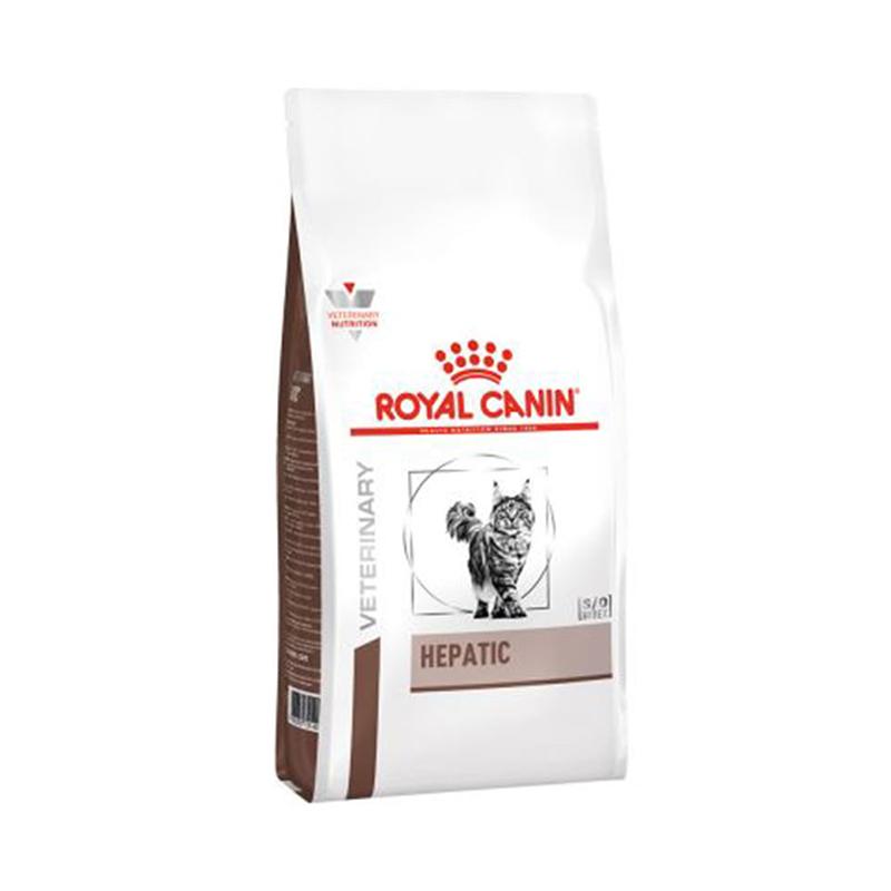عکس بسته بندی غذای خشک گربه رویال کنین مدل Hepatic وزن 2 کیلوگرم