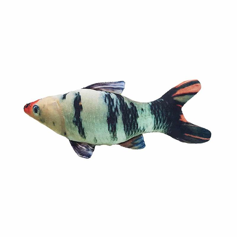 عکس محصول عروسک بازی گربه سویل پت مدل Fish ماهی رنگین کمانی 1