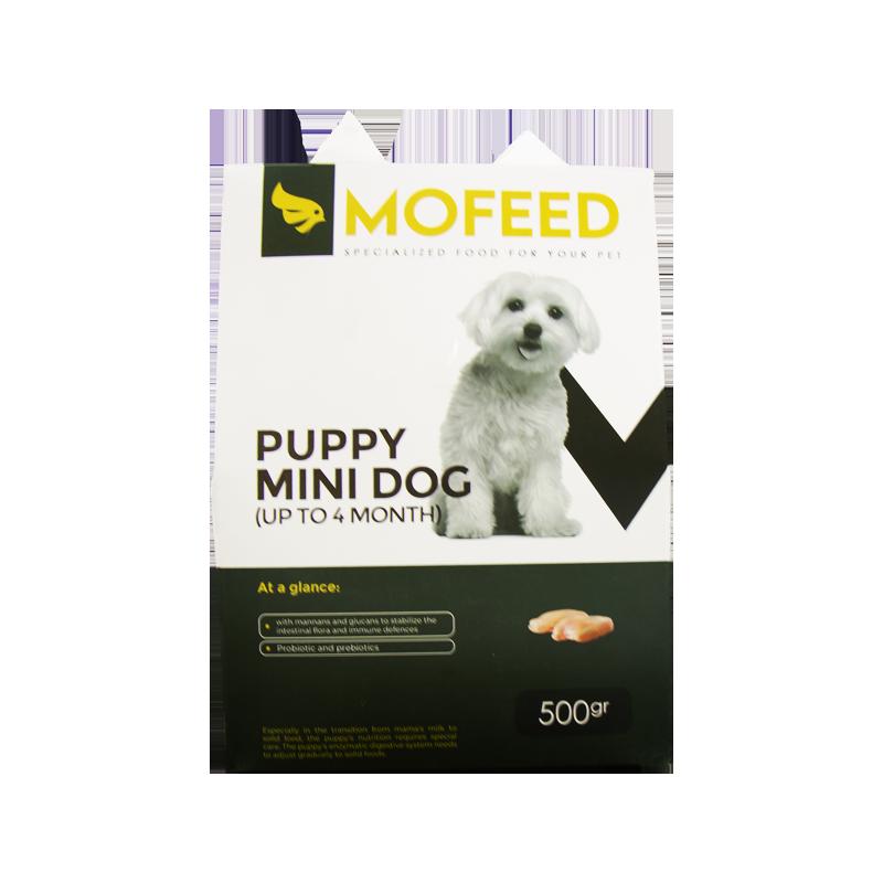 غذای خشک توله سگ نژاد کوچک مفید وزن 500 گرم