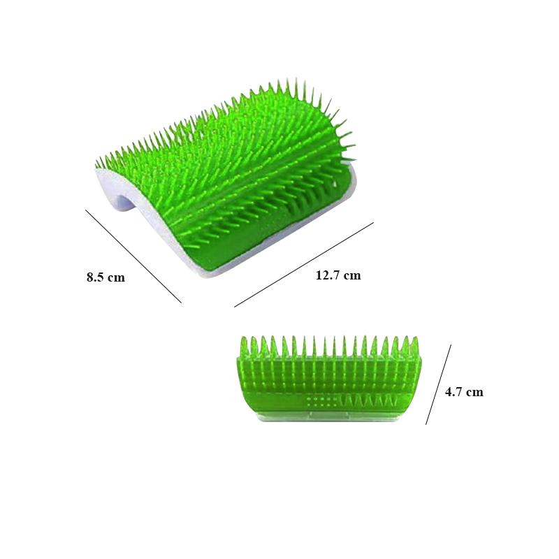 عکس محصول برس حیوانات دوگز مدل Self Groomer سبز