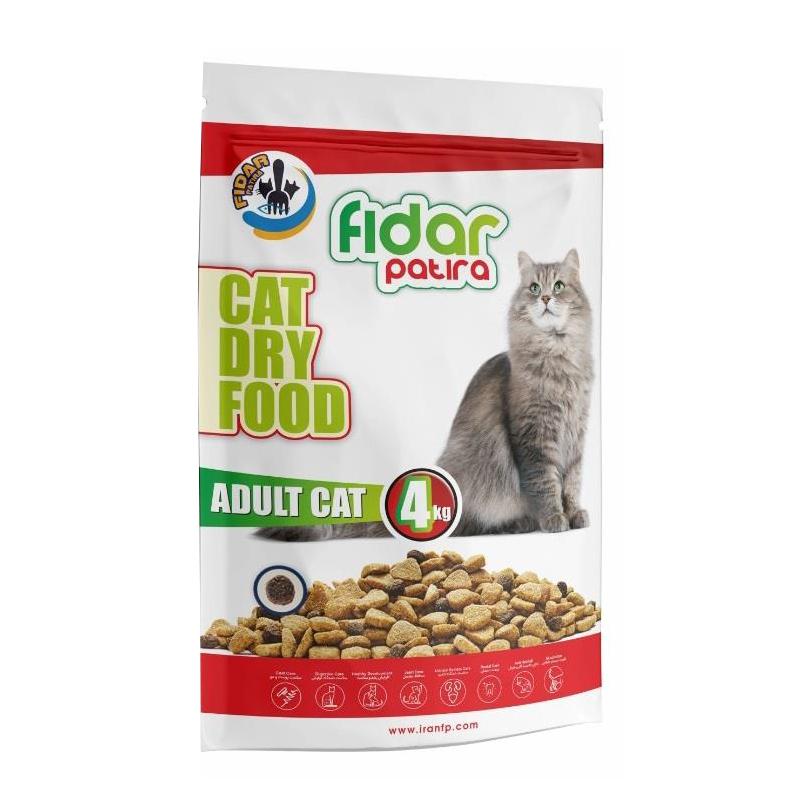 عکس غذای خشک گربه فیدار مدل Adult وزن 4 کیلوگرم
