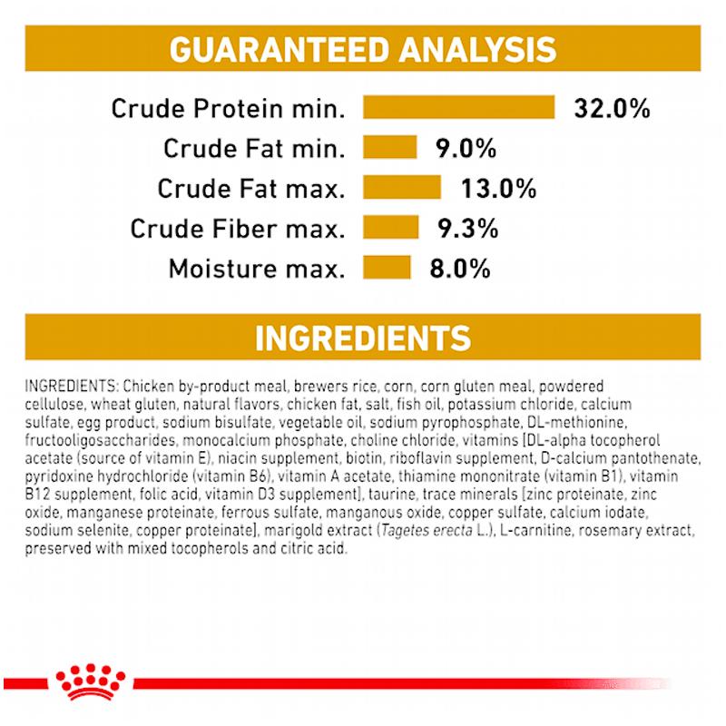 عکس راهنمای مصرف غذای خشک گربه رویال کنین مدل Urinary S/O وزن 1.5 کیلوگرم