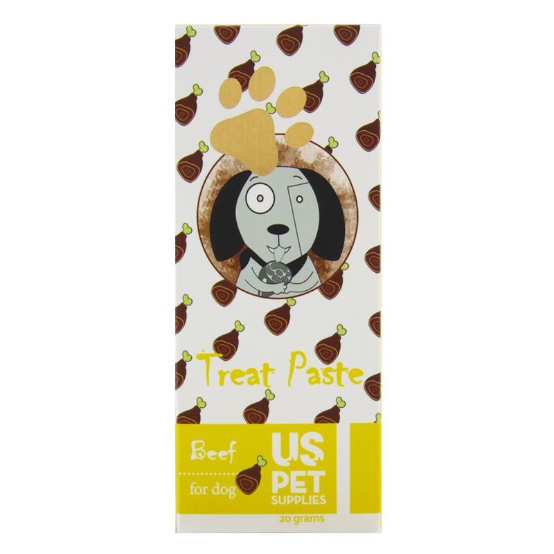 عکس بستنی سگ یو اس پت مدل Beef بسته 10 عددی