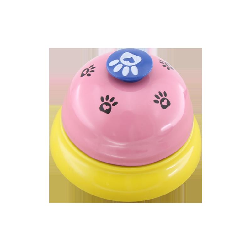 زنگ آموزشی سگ و گربه صورتی زرد
