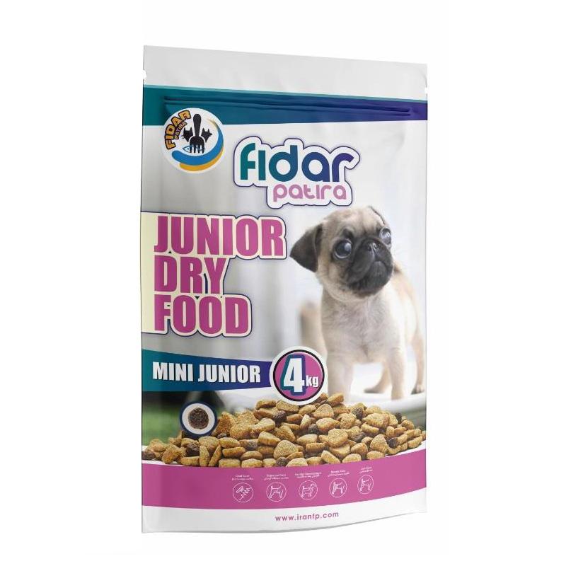 عکس غذای خشک سگ فیدار مدل Mini Junior وزن 4 کیلوگرم
