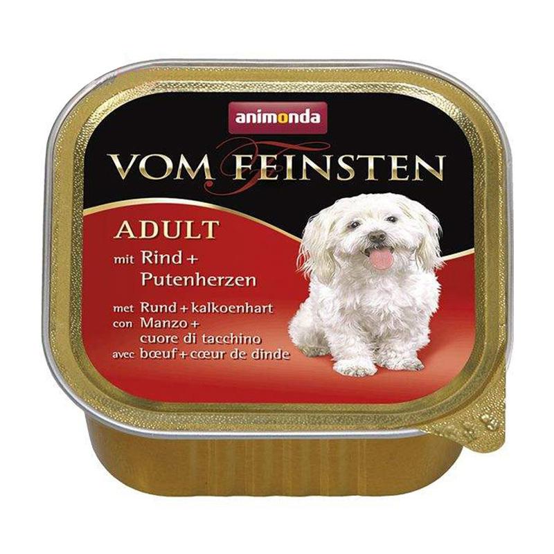 عکس کنسرو غذای سگ آنیموندا مدل Adult A وزن 150 گرم
