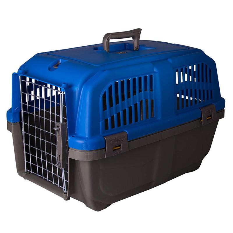 عکس باکس حمل سگ و گربه هپی پت مدل پانیتو رنگ آبی