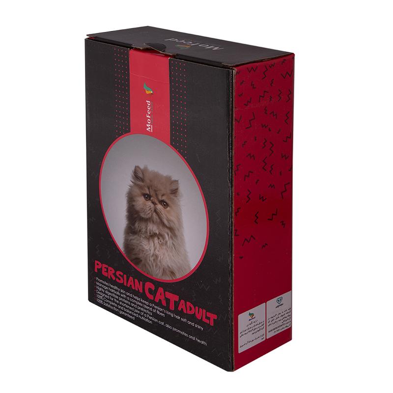 عکس جزییات بسته بندی غذای خشک گربه مفید مدل Adult Persian Cat وزن 1 کیلوگرم