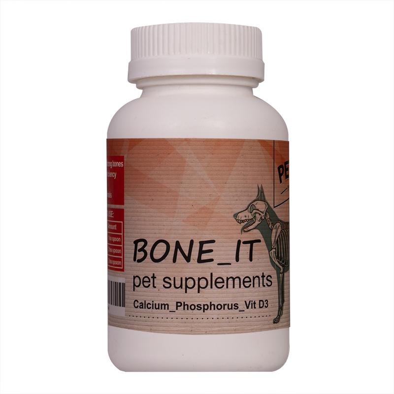 عکس بسته بندی مکمل غضروف ساز سگ پتچی مدل Bone-it وزن 240 گرم