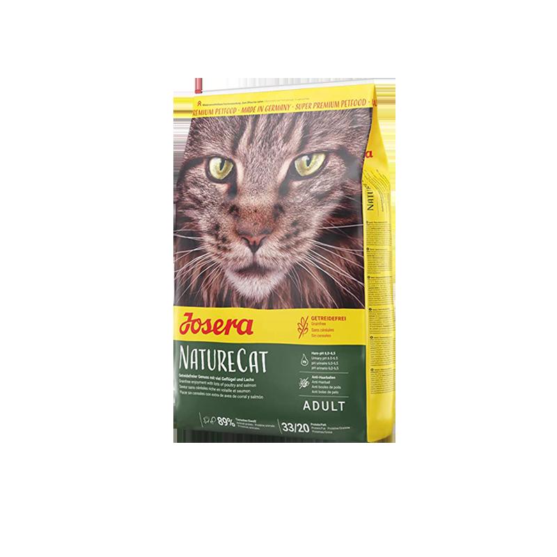 غذای خشک گربه جوسرا مدل Nature Cat وزن 2 کیلوگرم