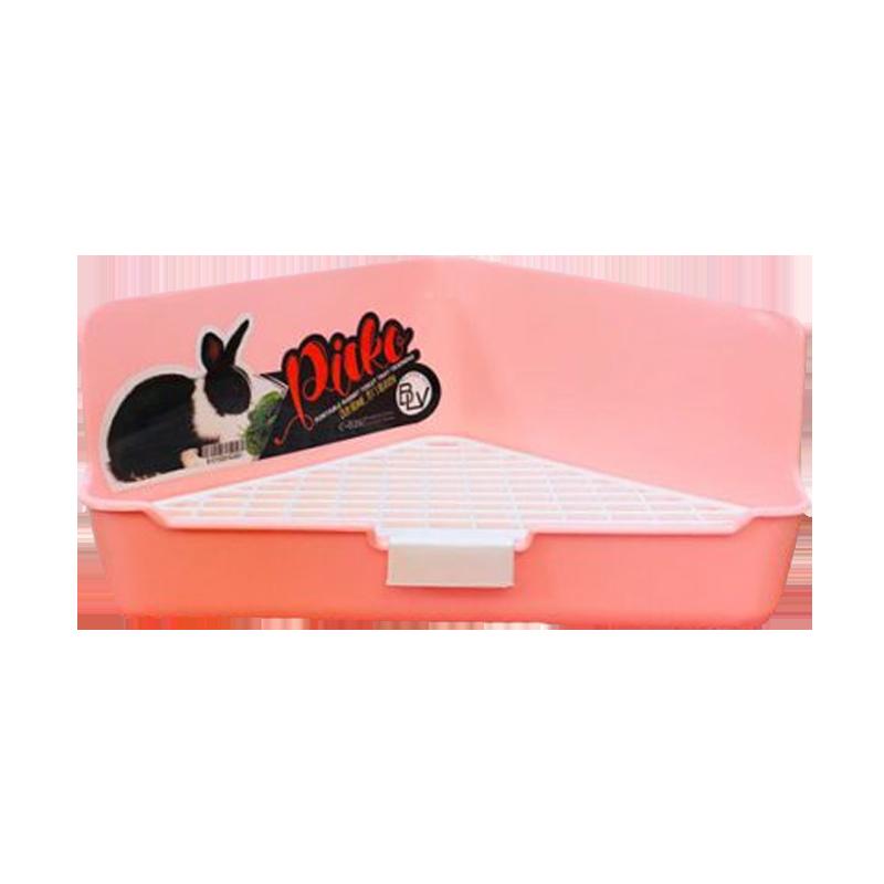 ظرف دستشویی خرگوش هپی پت مدل Picko گلبهی