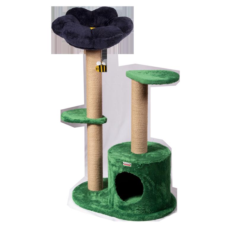 عکس اسکرچر ، لانه و جای خواب کدیپک مدل میخک رنگ سورمه ای