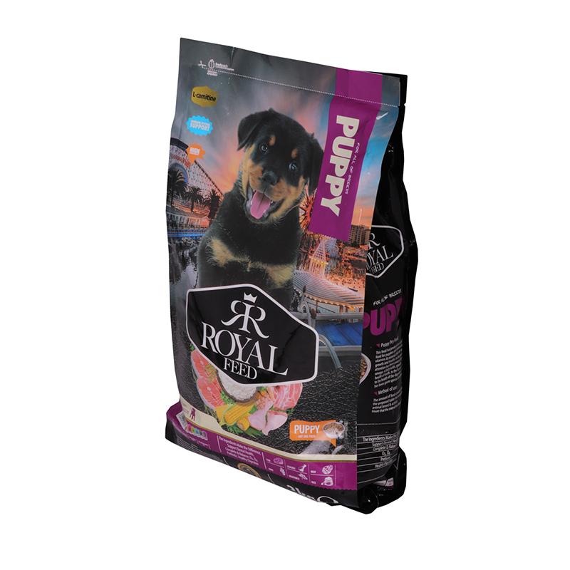 عکس جزییات بسته بندی غذای خشک سگ رویال فید مدل Puppy وزن 3 کیلوگرم