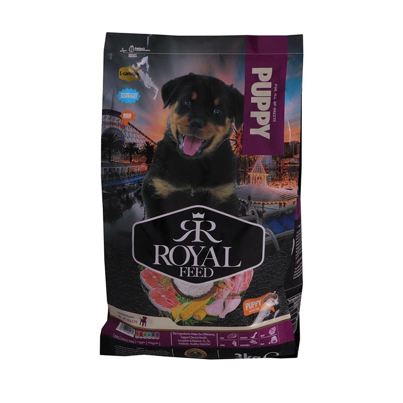عکس بسته بندی غذای خشک سگ رویال فید مدل Puppy وزن 3 کیلوگرم