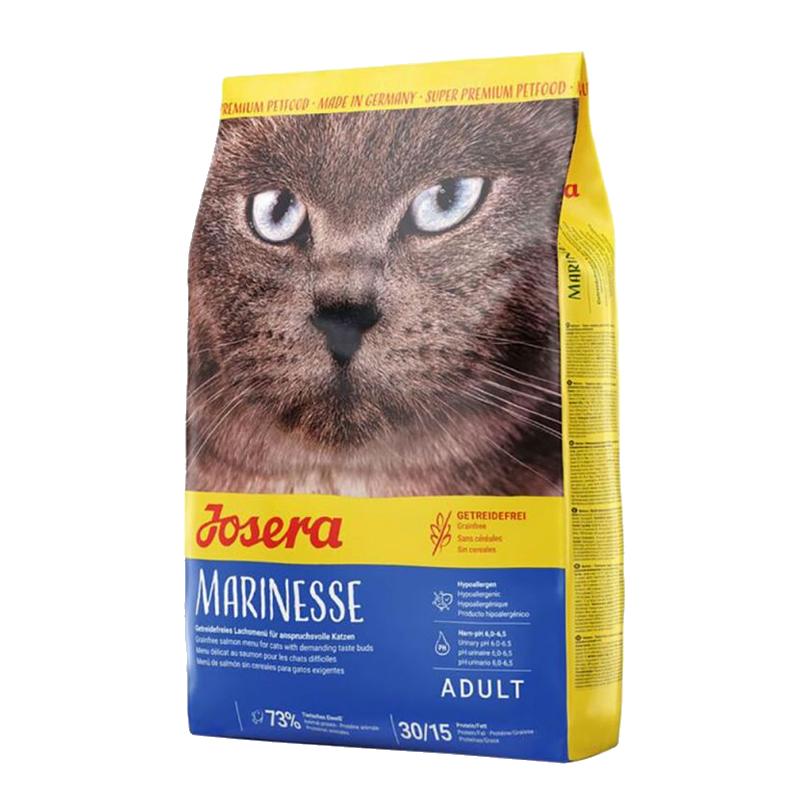 عکس بسته بندی غذای خشک گربه جوسرا مدل Marinesse وزن 1 کیلوگرم