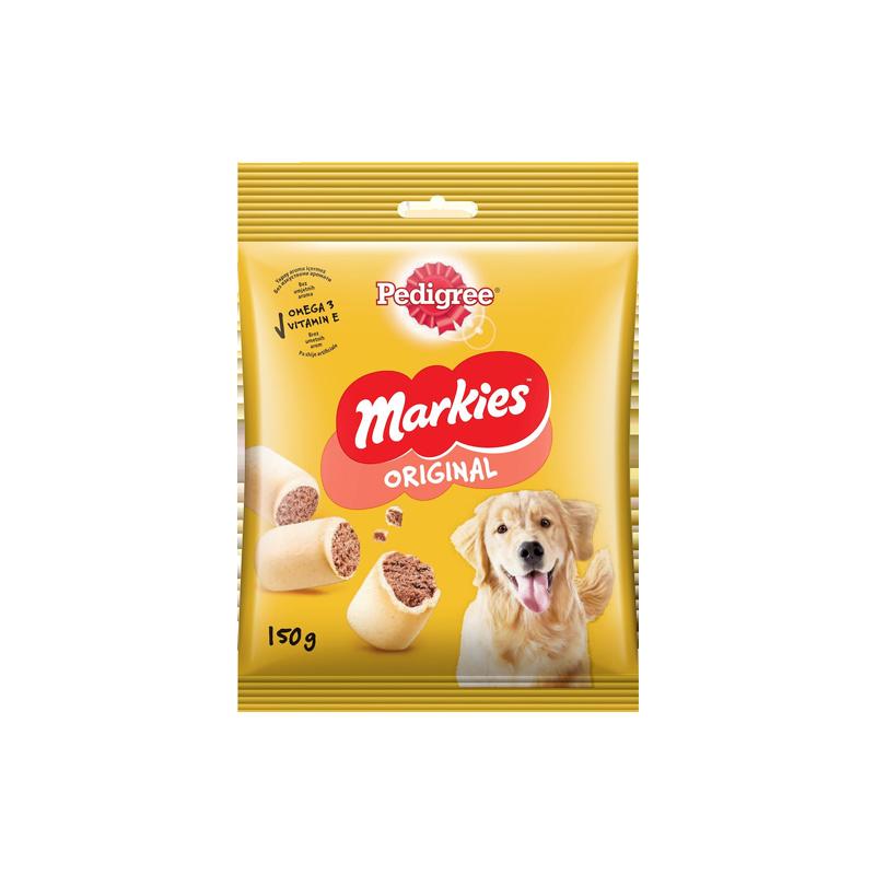 تشویقی سگ پدیگری Pedigree Markies وزن 150 گرم