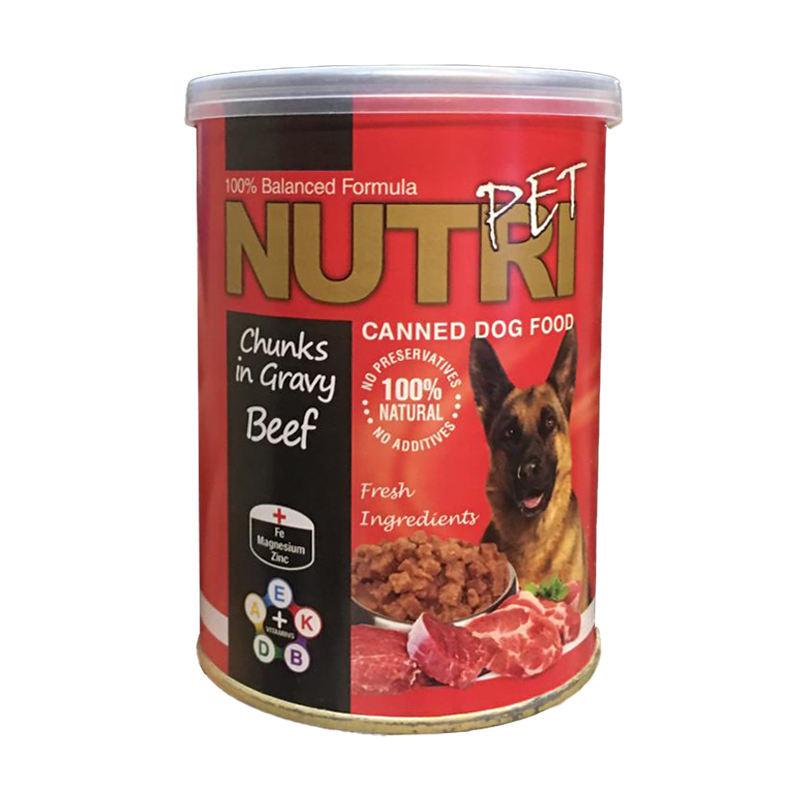 عکس کنسرو غذای سگ نوتری مدل Beef وزن 425 گرم